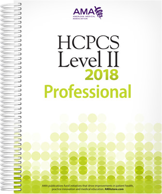 HCPCS 2018 Level II Book Cover
