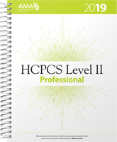 HCPCS 2019 Level II Book Cover