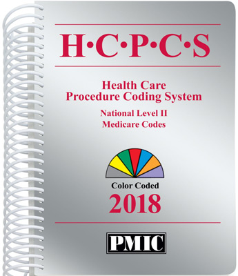 HCPCS 2018 Coder's Choice® Spiral Book Cover