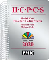 HCPCS 2020 Coder's Choice® Spiral Book Cover
