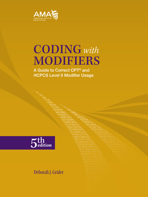 Coding with Modifiers 5th Edition Book Cover