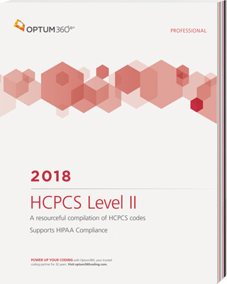 HCPCS Level II 2018 Professional Book Cover