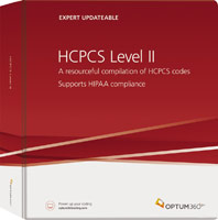 HCPCS Level II Expert Updateable Book Cover